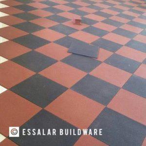 check pattern flooring