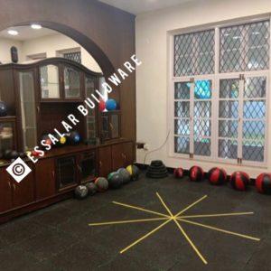 image of gym floor