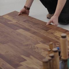 laminated wood floor